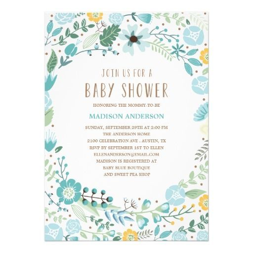 33 best images about {inspiration} botanical garden baby shower +, Baby shower invitations