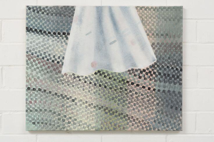 Adrienne Vaughan, Plumb, 2014, Oil on canvas, 400 x 500mm