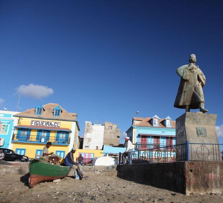 Sao Vicente Diogo Afonso Statue Mindelo , Cape Verde