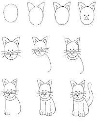 Картинки по запросу коты и кошки рисунки