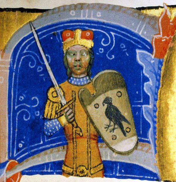 Árpád / c. 895 - c. 907 • Son of Álmos