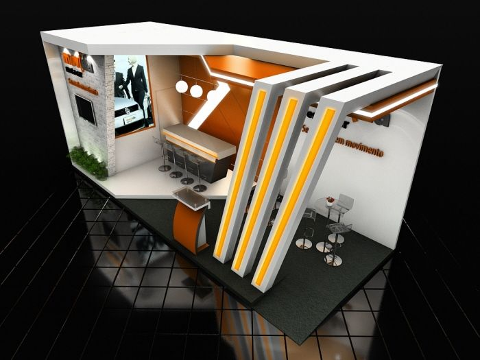 Exhibition Stall Ideas : By leandro domenes at coroflot stand design