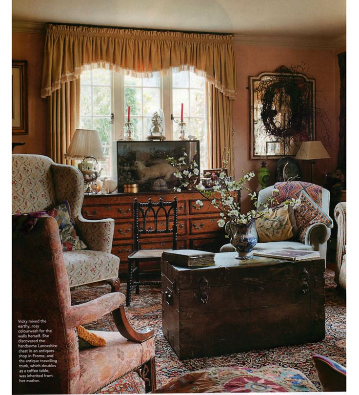THE STYLE OF THE ENGLISH COUNTRY HOUSE: THE CLUTTER I LOVE SO MUCH — ANTIQUES AND ALL! « The Anglophile