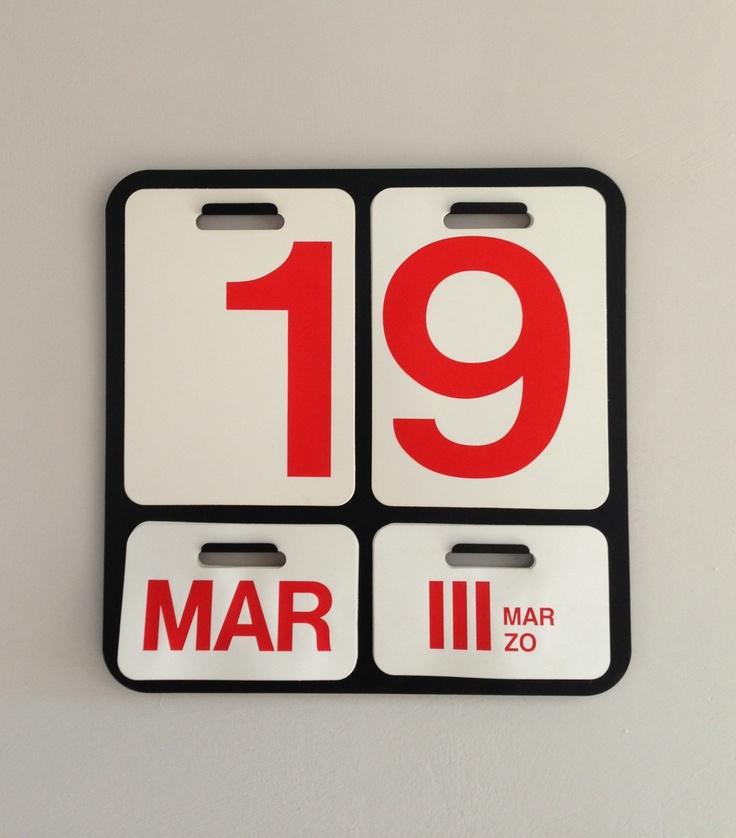 Calendario Enzo Mari