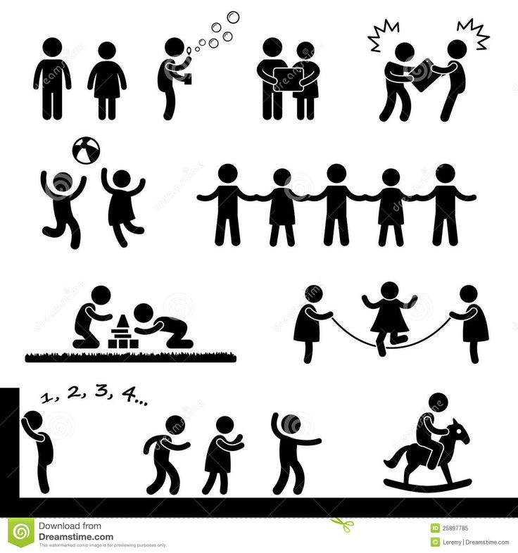 Happy Children Playing Pictogram | Pictograms | Pinterest ...