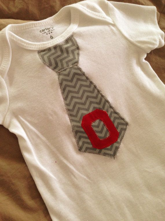 Hey, I found this really awesome Etsy listing at http://www.etsy.com/listing/158257435/ohio-state-baby-boy-tie-onesie