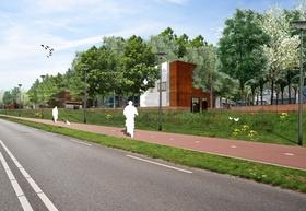 Ambachtsezoom   Hendrik-Ido-Ambacht   collage   stedenbouwkundig plan   bedrijventerrein   Cor-Ten staal   Urbanism   OD205sl   www.od205sl.nl