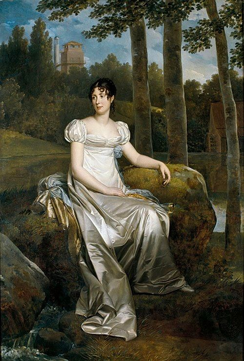 Désirée at Mortefontaine by Baron François Gérarad (Royal Palace, Stockholm Sweden) | Grand Ladies | gogm