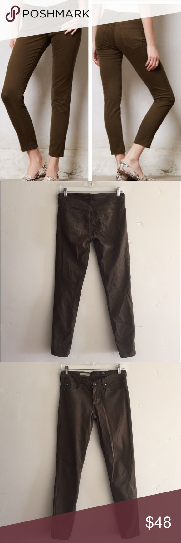 "AG Adriano Goldschmied Stevie Ankle Pants AG Adriano Goldschmied Stevie Ankle Pants in 26R.  Inseam is 29"".  Material has some stretch to it.  In excellent condition. AG Adriano Goldschmied Jeans"