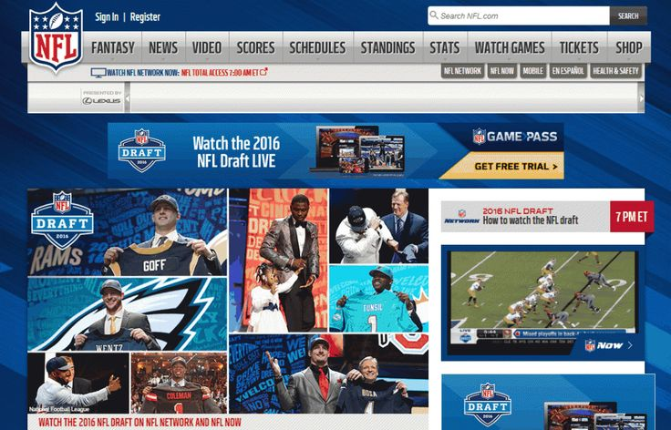 NFL - Football News, Scores, Standings, Players, Teams, Fantasy Football, Schedules, Videos, Photos - NFL.com