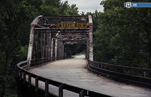 Big Piney River Truss Bridge. DEVIL'S ELBOW, MO (another view)