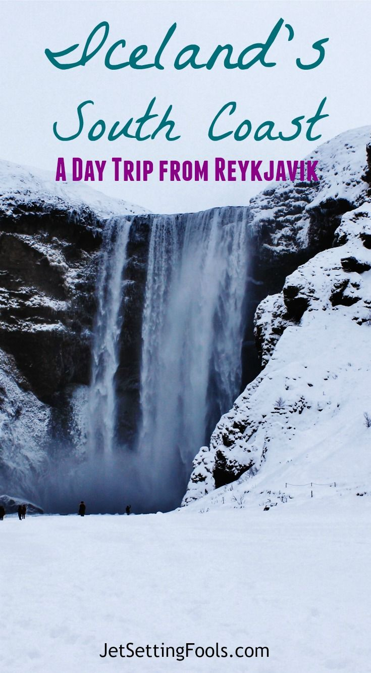 The tour itinerary to Iceland's South Coast listed five sights and was slightly more adventurous than the Golden Circle (but not so adventurous that we needed special gear). We would see two waterfalls, take a hike through snow to see a glacier, spend time on two black sand beaches and visit a folk museum.