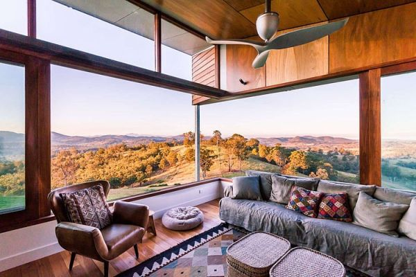 Spacious design allows for a expansive view