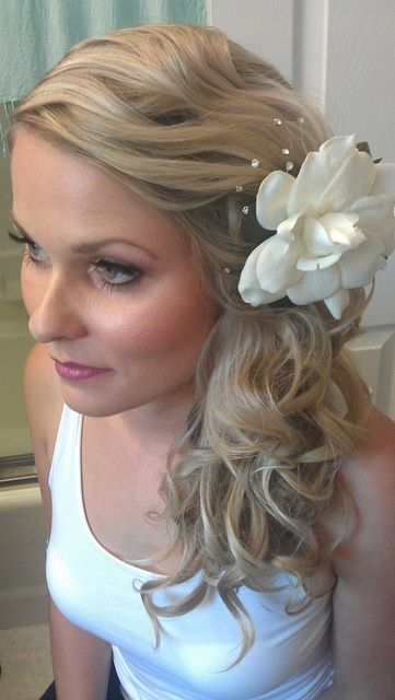 Bridal Hair And Makeup For A Beach Wedding By Www Wendyannebeauty