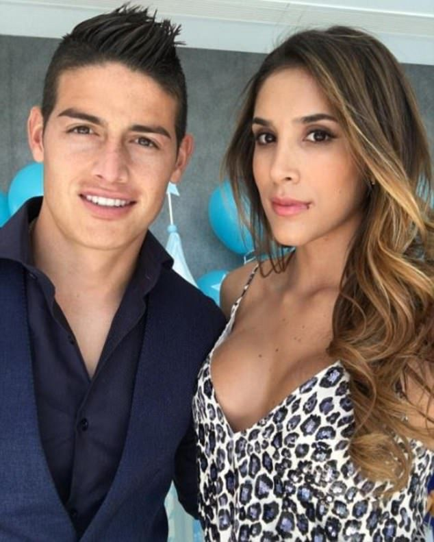 James Rodriguez's wife Daniela Ospina revealed a story about meeting Shakira