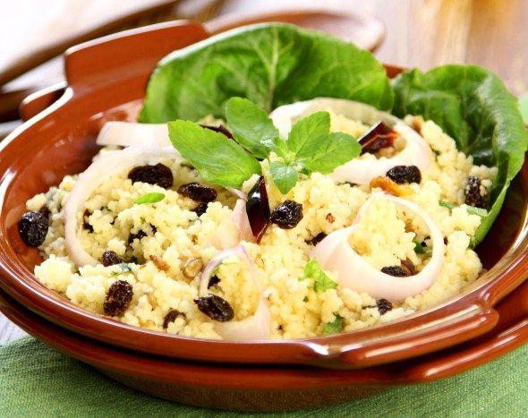 Moroccon couscous salad/Marokkolainen couscoussalaatti