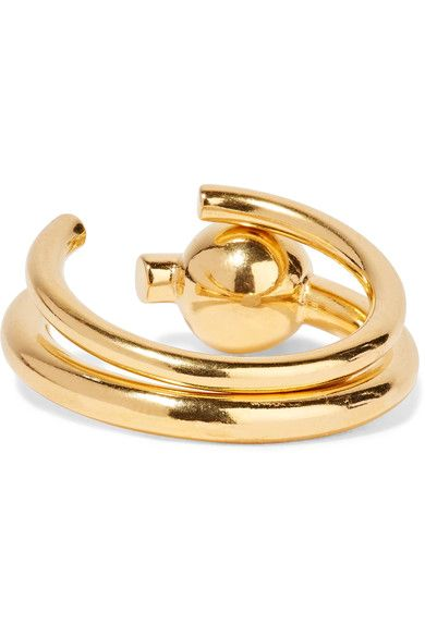 Maria Black - Set Of Two Gold-plated Rings - P 1/2