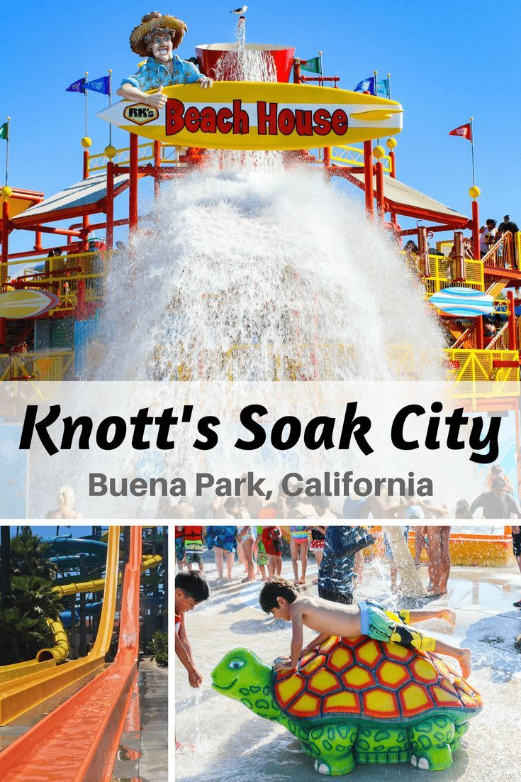 Visit the newly updated Knott's Soak City in Buena Park, California!  The entire waterpark been beautifully remodeled to include 7 new waterslides, an expanded food area and much more needed shade.  It is the perfect place to spend the summer relaxing out