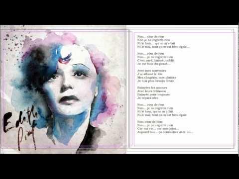 20 best Je ne regrette rien! images on Pinterest | Singers ...  Edith