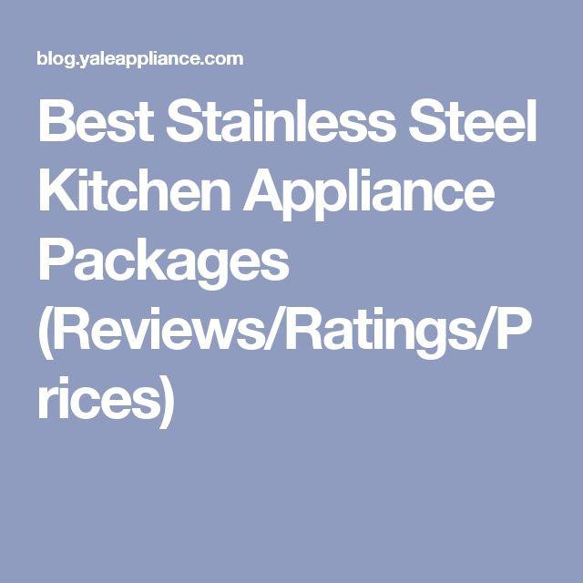 Kitchenaid Black Stainless Steel Complete Kitchen Package: 25+ Best Ideas About Kitchen Appliance Packages On Pinterest