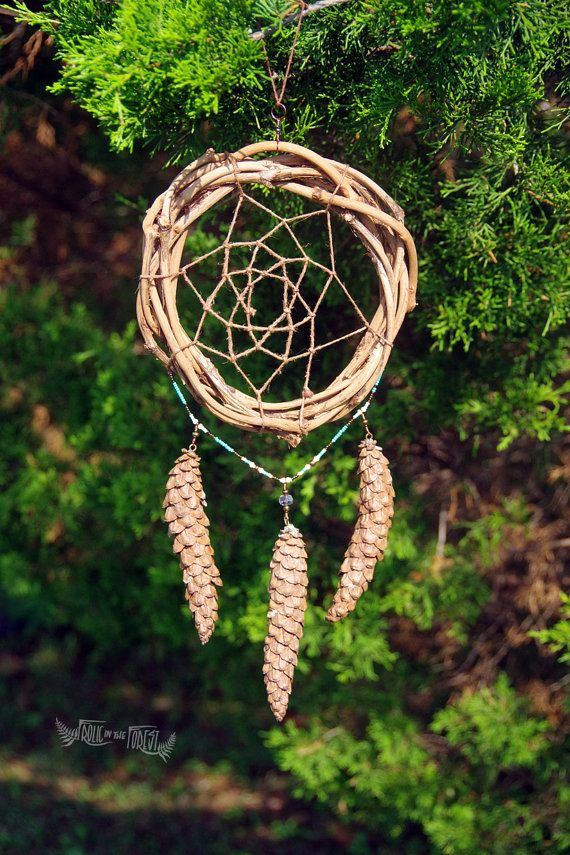 Clear Skies Rustic Forest Dreamcatcher von Frolic…