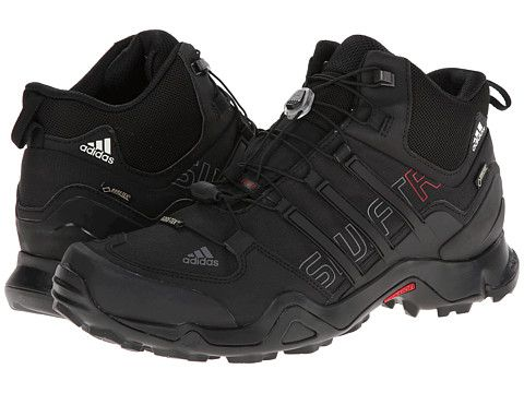 adidas Outdoor Terrex Swift R Mid GTX® Black/University Red - Zappos.com Free Shipping BOTH Ways