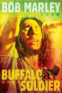 Bob Marley BUFFALO SOLDIER Reggae Music Poster - Aquarius Images Inc.