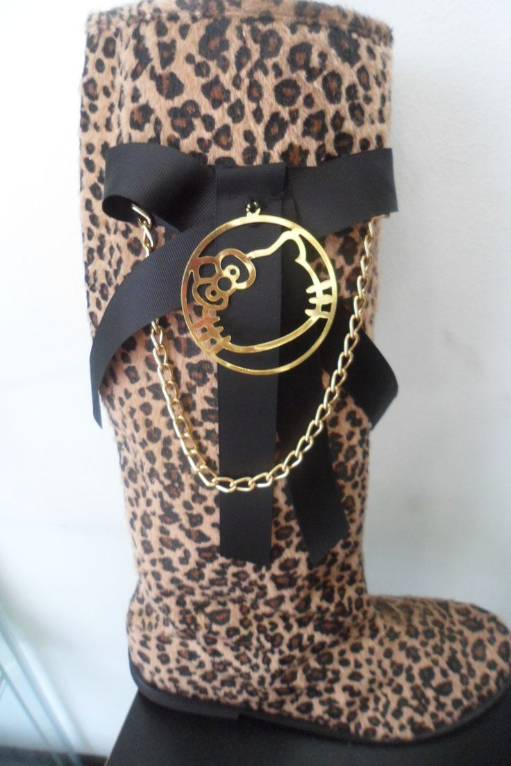 animal print wellies for women by ellishoes.blogspot.com