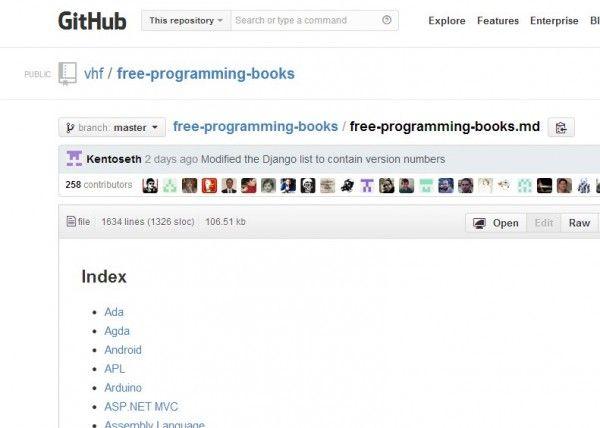 Una página con más de 1000 libros gratuitos sobre programación. #ebooks #programacion