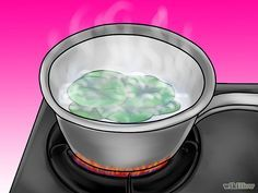 Make Organic Aphid Sprays- Boil the nasturtium leaves and water in a saucepan for 15 minutes.
