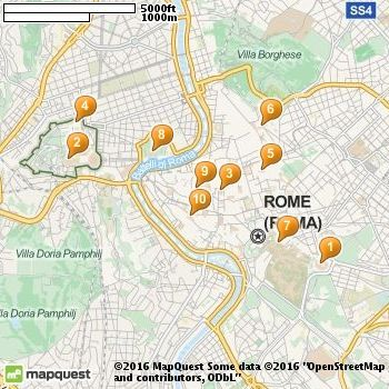 The Best Tourist Attractions In Rome Ideas On Pinterest - Rome tourist map attractions