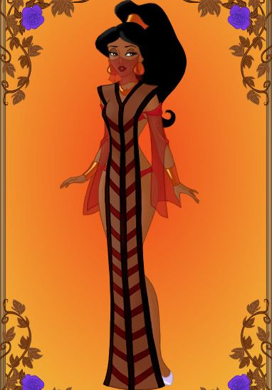 Tribal Princess_Jafar's Spell by GlamourGoth89.deviantart.com
