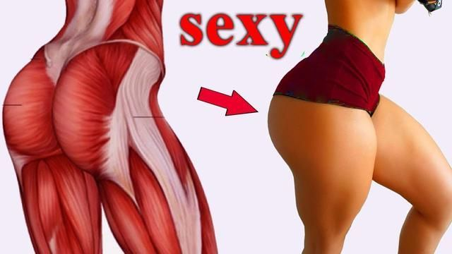 How To Make Your Butt Rounder And Hips Wider | Buttocks Firming Exercise | Booty…