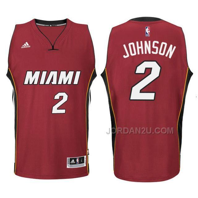 Joe Johnson Miami Heat #2 New Swingman Red Jersey