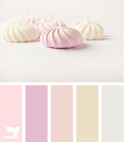 fluffed tonesColors Palettes Candies, Soft Colors, Colors Application, Colors Design, Colorpalette, Colors Schemes, Fluffed Tone, Colours Palettes, Design Seeds Pink