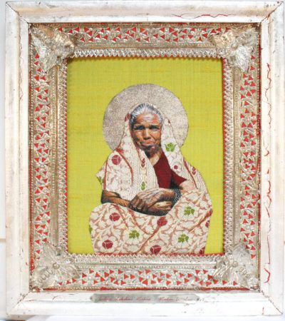 Indira Lakshmi Mishra-Mother in Law (Icons of the Ordinary, 2007, Embroidery