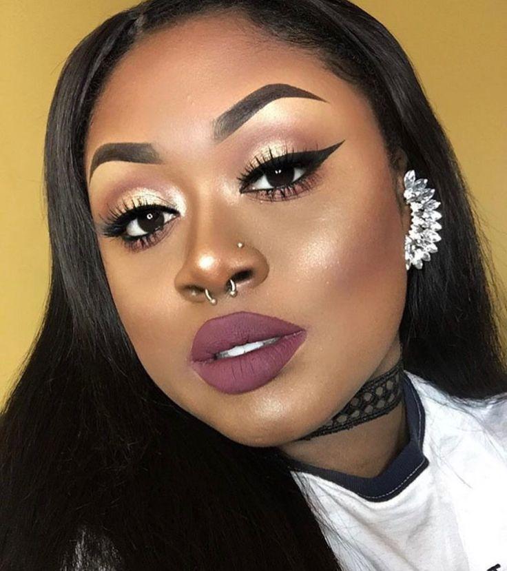 Best 25 Black Girl Makeup Ideas On Pinterest  Beat Face Makeup, Black Face Makeup And Face Beat-3357