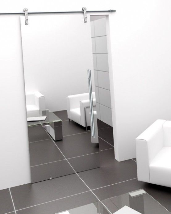 Modern Single Sliding Door Foa Porte