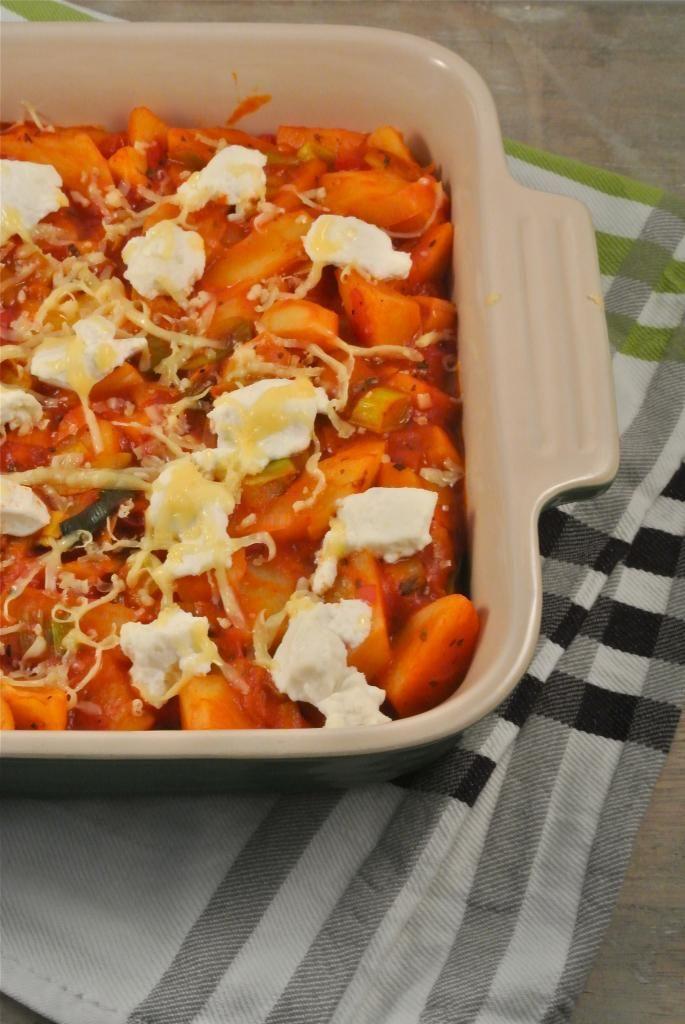 Lekker en Snel: Aardappelovenschotel met prei en ricotta - Lekker en Simpel
