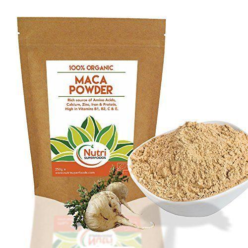 » Lancement Promo» Brut Organique Maca Poudre Premium Végétalien Superaliment. Pour promouvoir la fertilité pour hommes et femmes, pour…