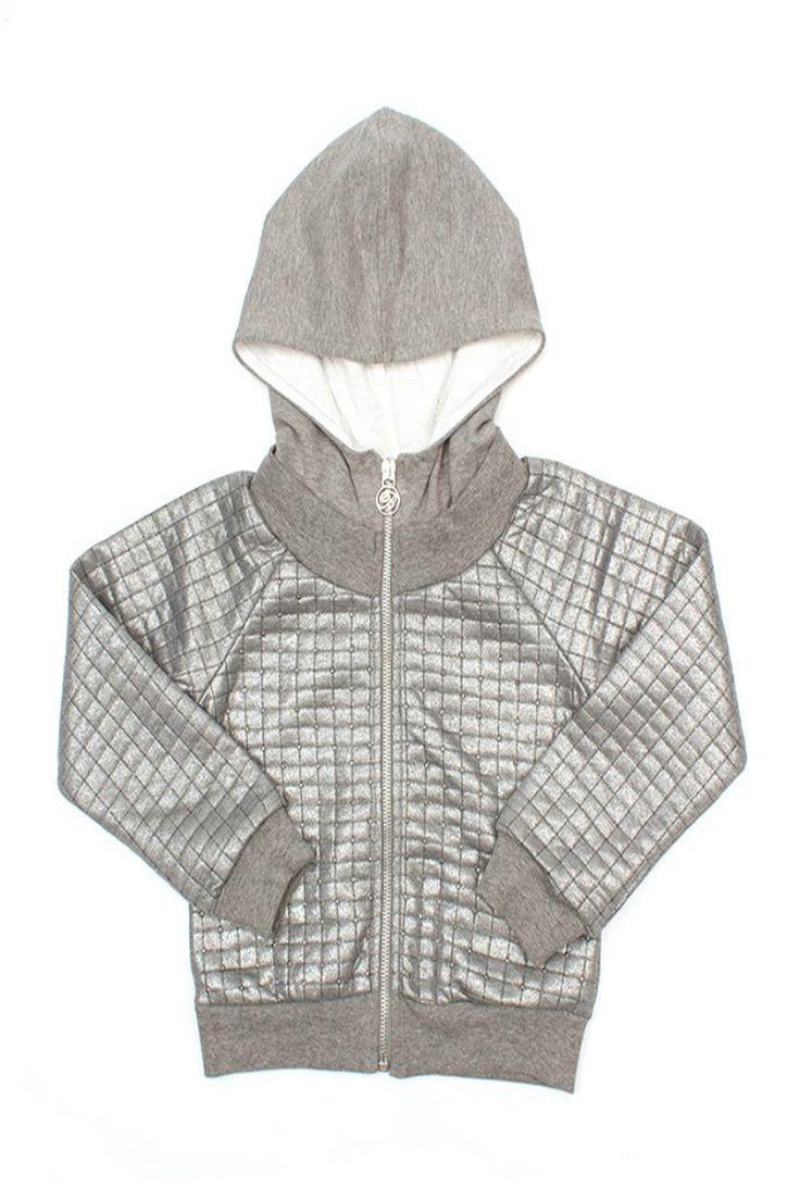 GIACCA MISS BLUMARINE JEANS,  #Giacca con cappuccio per #bambine di #Miss #Blumarine #Jeans di #colore #argento con zip centrale, impunture a vista con #applicazioni in micro strass, logo in micro #strass. #missblumarine #abbigliamentomissblumarine  http://www.abbigliamento-bambini.eu/compra/giacca-miss-blumarine-jeans-2570393