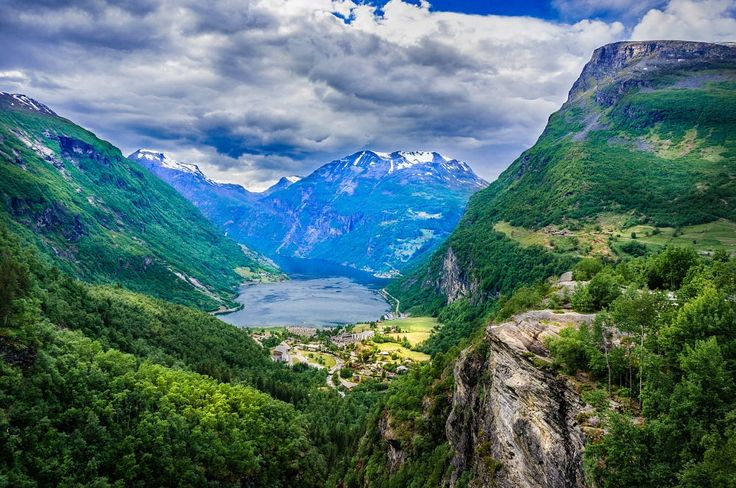 View on Geiranger from Flydalsjuvet by Dmytro Korol on 500px