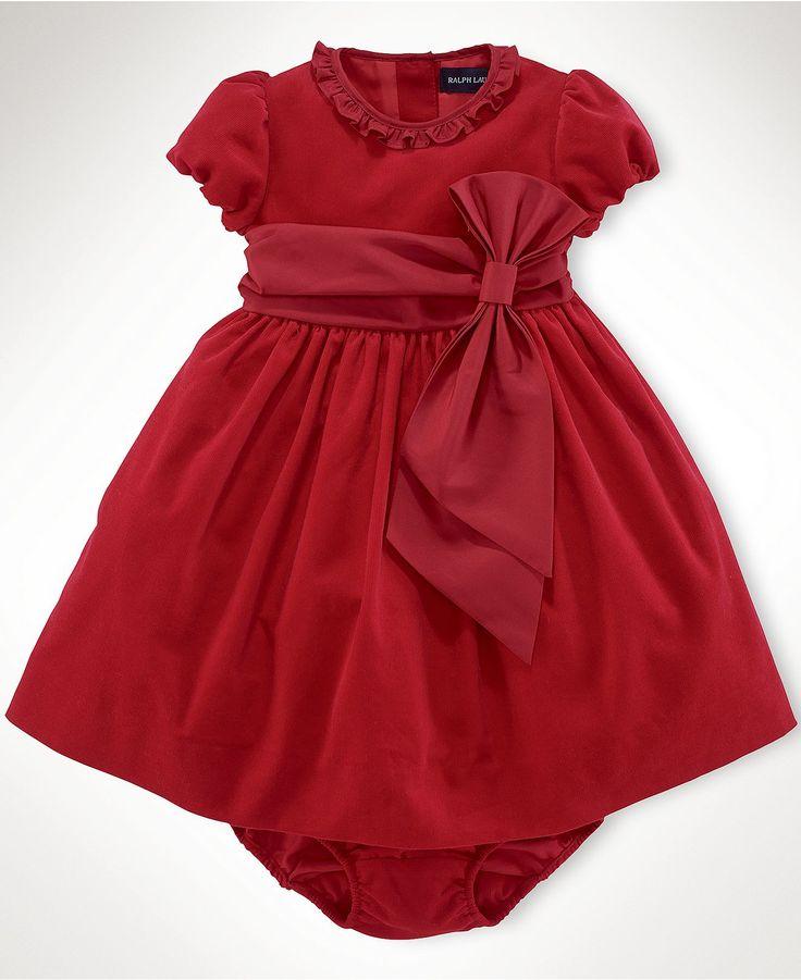 Ralph lauren baby dress baby girls corduroy party dress kids baby
