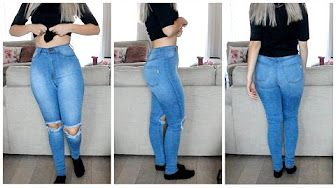 b31bf5e9dd72 How to Downsize Jeans (Resize Waist   Legs!) - YouTube