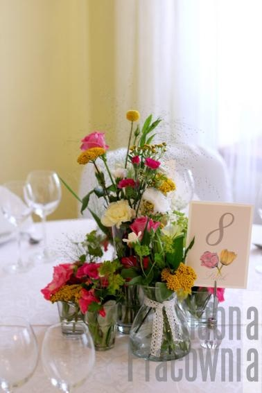 bukiety z polnych kwiatów