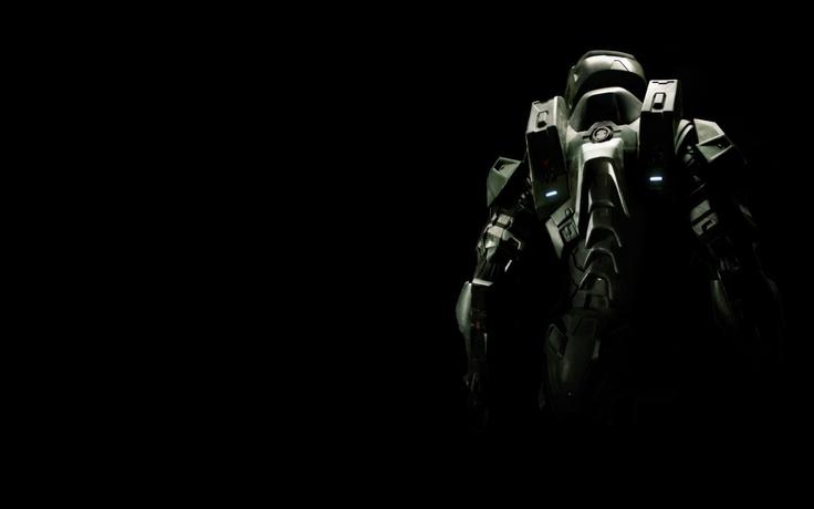 Halo 4 Master Chief back