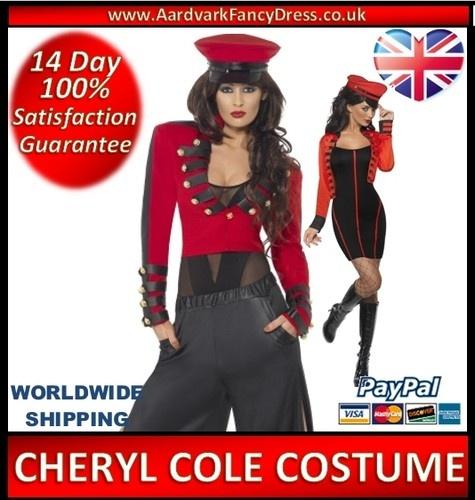★ Ladies CHERYL COLE Fancy Dress Costume POPSTAR Military Pop Star Starlet HAT ★   eBay