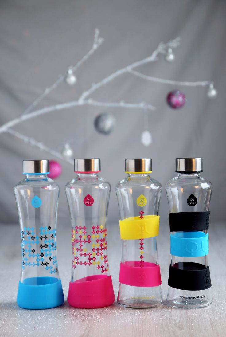 EQUA CMYK SQUEEZE collection of glass bottles is the new generation of EQUA reusable bottles, which are fashionable and convenient. EQUA SQUEEZE water bottles are great gift ideas for your friends and family.