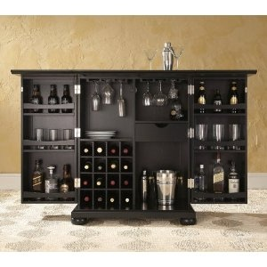 would go well with my new appliances expandable liquor cabinet wine
