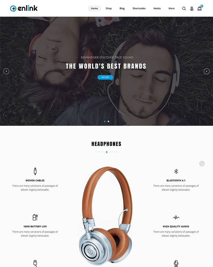 Enlink - single product WooCommerce WordPress Theme.  Click link in bio for live preview.  #wordpress #woocommerce #wp #wptheme #bike #camera #cycle #drone #headphones #responsive #website #webdesign #php #css #javascript #html
